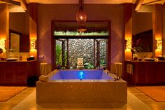 Most Expensive Hotels: Ambassador's Bure, Wakaya Club & Spa, Fiji    Cost: $4,900 a night.   How would you like to soak in this two-person tub? You can also enjoy the healing waters of your own private Plunge/Water Shiatsu Pool Lanai. And, of course, there's your own stretch of white-sand beach and Pacific waters right out the door.