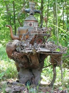 fairy houses pictures   This fairy house is one of the prettiest I've ever seen: