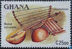 Postage Stamps - Ghana - Musical Instruments