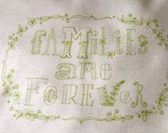 Stitch this hand drawn whimsical statement made from a hand drawn illustration.  Hand drawn fonts and designs printed in a seafoam color on 100% cotton. Design measures 4 1/2 wide by 7 1/2 tall with a generous all white border around entire design. (fabric sampler is approximately 9 wide by 12.5 tall)  Use your favorite colors and stitches to complete this sampler and youll have a one of a kind original when you are done. {Youll stitch yours any way you choose as the pattern comes w...