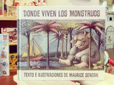 Donde viven los monstruos. Maurice Sendak.