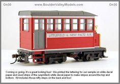 #370 Littlefield & New Paltz Railbus (On30)