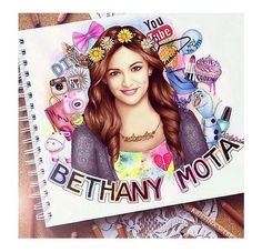 This is truly amazing! Bethany Mota by Kristina Webb