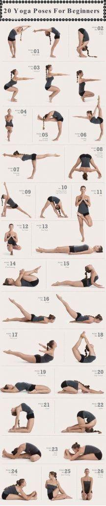 26 Common Yoga Poses