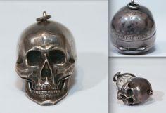 Memento mori antique pocket watch