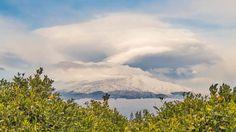 Pendant l'hiver, l'Etna devient un paradis pour les amateurs de ski