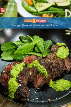 325 best recipes season 4 images on pinterest hallmark channel grilled hanger steak with green harissa forumfinder Choice Image