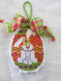 Adorable bunny ornament
