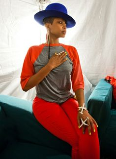 Can I be her for a day, please? AfroPunk Festival 2012 Highlights Pictures - Erykah Badu | Rolling Stone