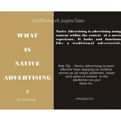 Go native! #marketing #digitalmarketing #advertising