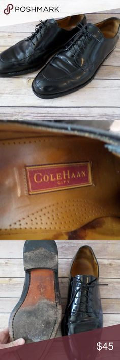 Cole Haan City Black Oxford Shoes