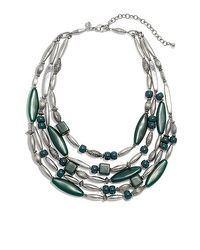 I would wear this ! Women Jewelry, Fashion Jewelry, Bali Fashion, Multi Strand Necklace, Necklace Designs, Jewelry Design, Jewelry Ideas, Turquoise Necklace, Jewelry Making