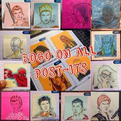 Forgot to mention. Not only can one get 30% off certain items on my #storenvy but all my #postit sketches are #BOGO  ArtOfPLO.storenvy.com #ARTOFPLO #Larios #artist #drawing #marvel #illustration #digitalart #illustrator #photoshop #copic #wacom #winter  #supportlocalartists #localartist #fountainvalley #theOC #orangecounty #instacool #myart #fanart  #comicbook #repost #socal #Art #instatalent #sale