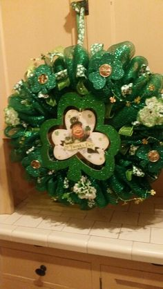 Wreath St. Patrick's day!
