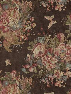 Bannerman Floral - Chestnut by Ralph Lauren Fabric