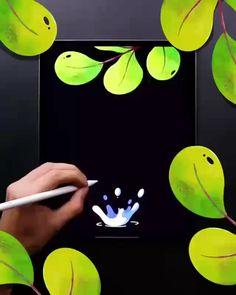 Digital Art Tutorial, Digital Painting Tutorials, Art Tutorials, Ipad Art, Ipad Kunst, Art Mignon, Posca Art, Animation Tutorial, Animation Reference