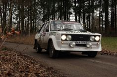 2017 Boucles de Bastogne, in woods near Recogne-nice Fiat 131 Abarth driven by Andrew Siddal & Alexander Lee; finished 18th overall