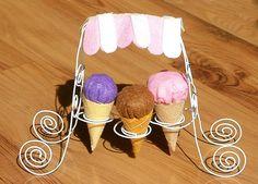 free felt pattern-felt icecream 10 by fairyfox, via Flickr