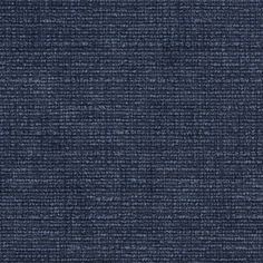Dark Blue Solid Soft Chenille Upholstery Fabric