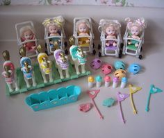 Quints dolls these were my barbies kids