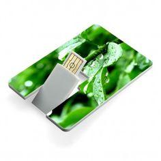 USB flash drive credit card style