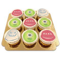 Die Monster-Cupcakes als süße, schaurige Leckerei auf der nächsten Party in verschiedenen Geschmacksrichtungen. Mit persönlicher Grußkarte zum Verschenken.