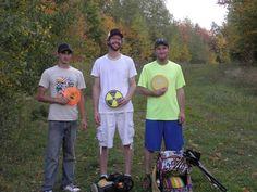 Ryan, Pete & Rick at Highbridge Hills. 9-28-14