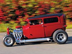Tom Hentschells 1929 Ford Model A Tudor