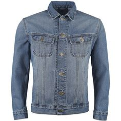 f5cd37433883b Ex Lee (Cut Label) Mens Classic Denim Jacket (XX-Small