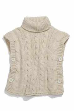 Alternate Image 1 Selected - United Colors of Benetton Kids Sweater Vest (Little Girls & Big Girls)