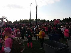 Pink everywhere - so inspiring.  #Powerof39 lives in every one here
