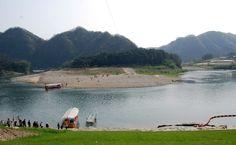 Cheung-ryung port in Young-Wall, Korea