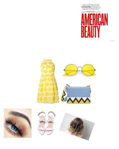 """American Beauty 😍"" by serena-bizzell ❤ liked on Polyvore featuring Dorothy Perkins, Prada and Ray-Ban"