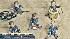 Band made up of one baby will rock your socks off