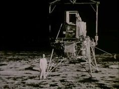 Moon Landing Simulation at Lunar Landing Research Facility circa 1969 NASA https://www.youtube.com/watch?v=RR05BG7IgRE #Moon #NASA #space