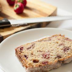 Strawberry and Vanilla Pound Cake