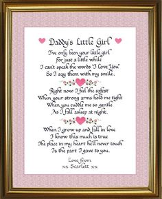 I love this. It would be a wonderful father's day present to daddy