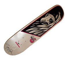 Tony Hawk Autographed Eye of Falcon Skateboard