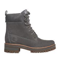 ΓΥΝΑΙΚΕΙΑ ΜΠΟΤΑΚΙΑ TIMBERLAND (DK.GREY) Timberland 6, Grey, Shoes, Women, Fashion, Ash, Moda, Gray, Zapatos