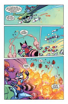 Preview: Rocket Raccoon #6, Page 3 of 4 - Comic Book Resources