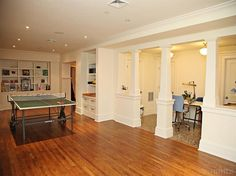 Finished, walk out lower level with playroom, art room and built in book cases -- #: 3315632