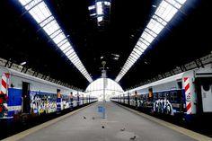 9.21 Estación de tren de La Plata. Foto: Fernando Massobrio