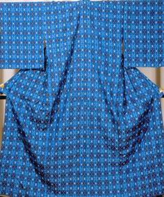 読谷山花織   伝統的工芸品   伝統工芸 青山スクエア Kimono, Ballet Skirt, Textiles, Japanese, Traditional, Skirts, Blue, Fashion, Traditional Clothes
