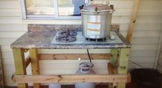 The $100 Simple Outdoor Canning Kitchen  | Off The Grid News