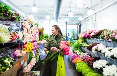 J.Crew in the NYC flower district...