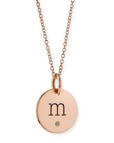 Duragold 14k rose gold disc diamond initial k pendant necklace duragold 14k rose gold disc diamond initial k pendant necklace 18 amazon curated collectionhttpamazondpb008dd1bn6refcmswrpi mozeypictures Image collections