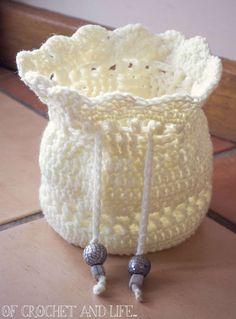 Of Crochet and Life...: Tasha's Tarot Bag ~ Crochet Pattern