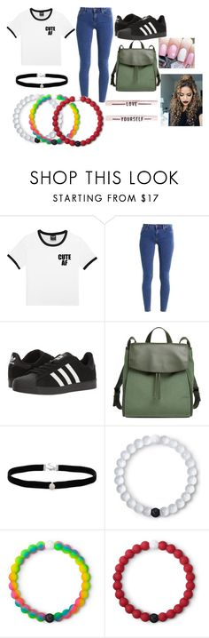 """""""Untitled #19"""" by cvillaltameza ❤ liked on Polyvore featuring even&odd, adidas, Skagen, Amanda Rose Collection and Lokai"""