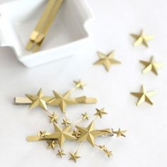 Make these lovely star hair clips in just a few easy steps.