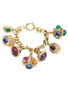 Chanel Vintage Charm Bracelet - - Farfetch.com